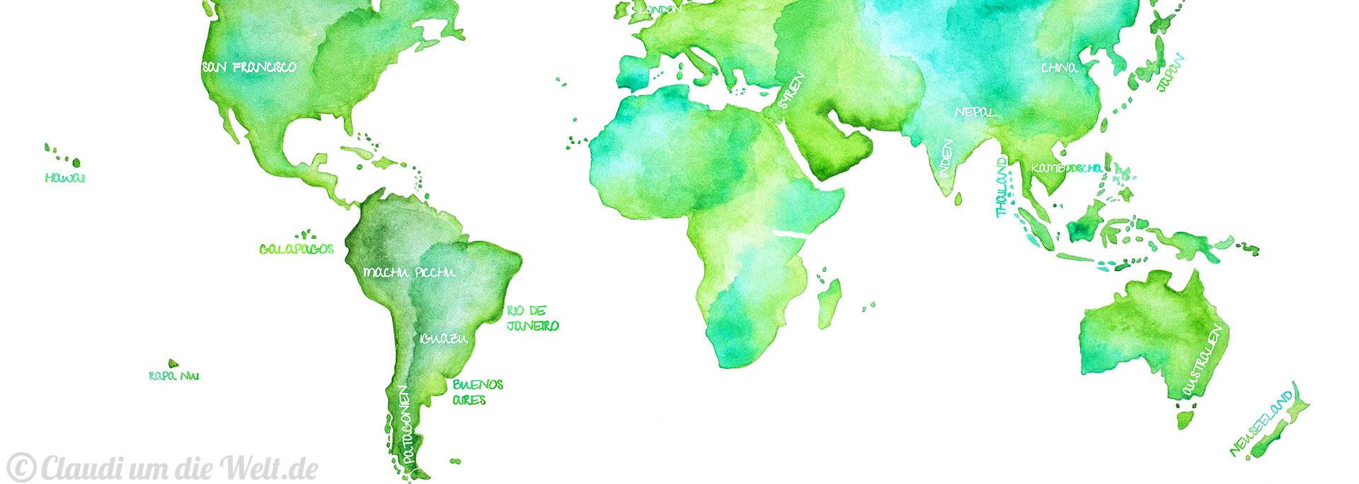 Weltreise: Leichte Aufregung