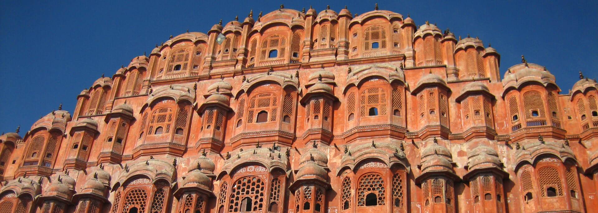 Wie ich in Rajasthans Pink City wenig rot sah