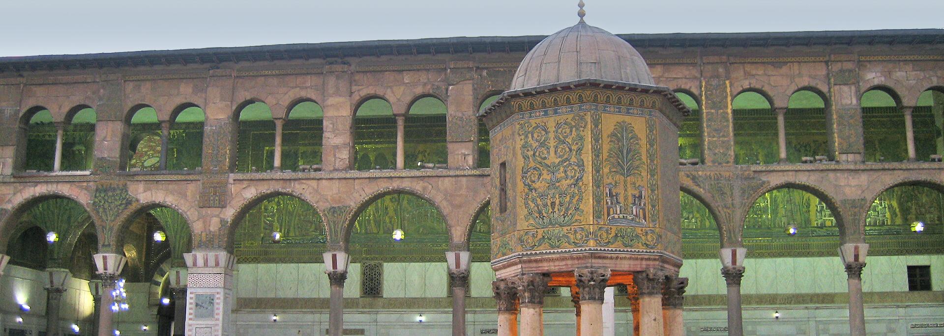 Wie ich in Damaskus' Umayyaden-Moschee zum Obi Wan wurde