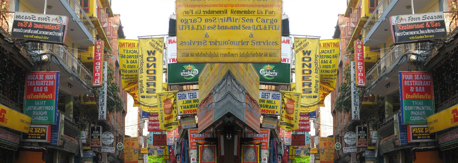 Wie ich in Kathmandu ein Ticket zum Alpenglühen kaufte