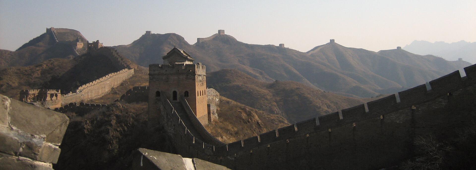 Wie mich die Große Mauer in die Knie zwang