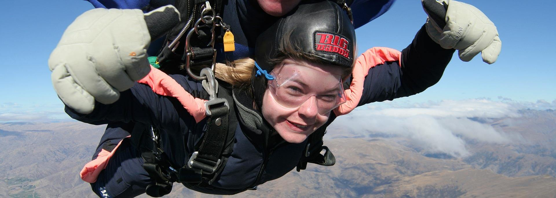 Fotos: Sky Dive in Neuseeland