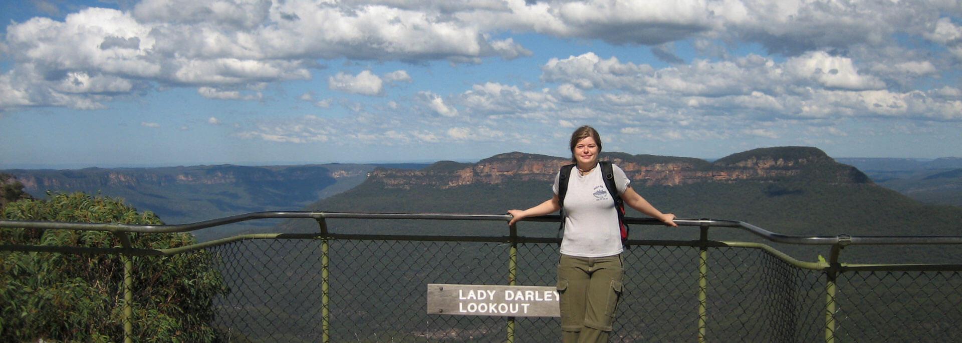 Wie ich die Berge hinter Sydney und die berühmte Oper bewanderte