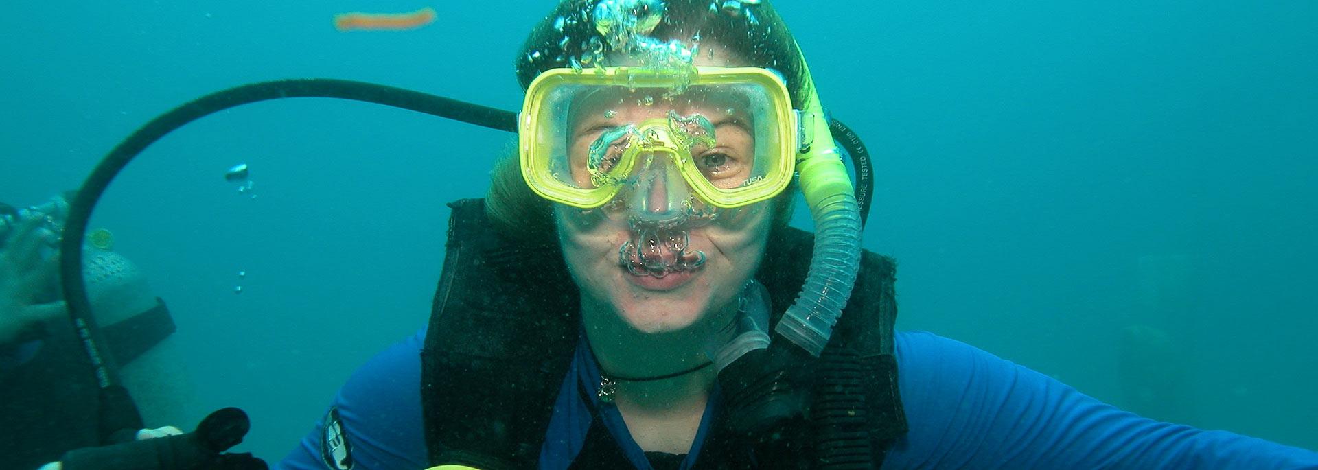 Wie ich todesmutig ins Great Barrier Riff sprang und wieder auftauchte