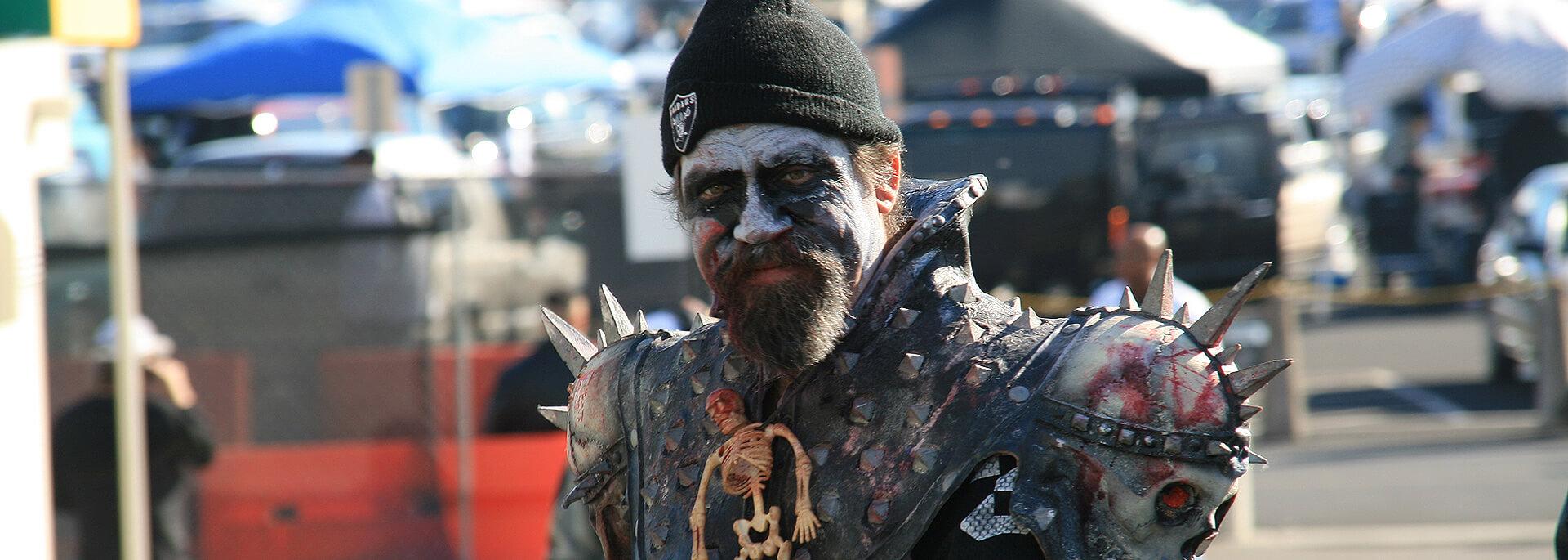 Wie ich in Oakland beim Football frittierten Truthahn und Ozzy Osbourne traf