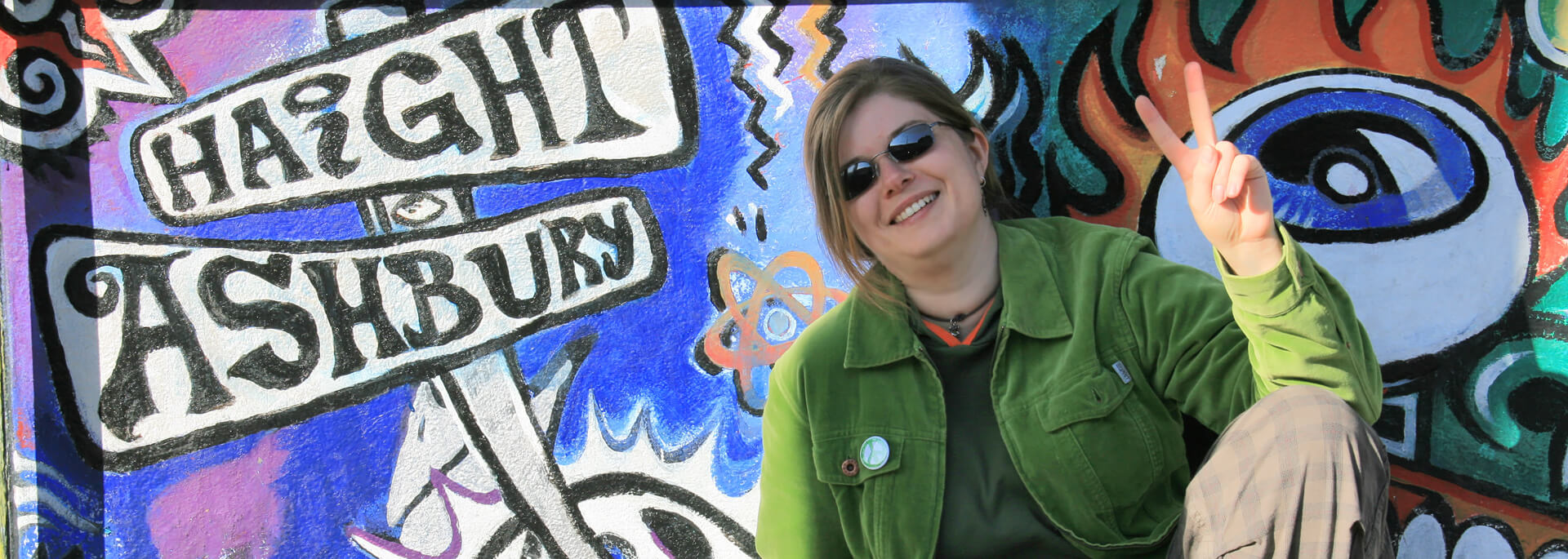 In San Franciscos Hippie-Viertel auf der Suche nach Love &  Peace