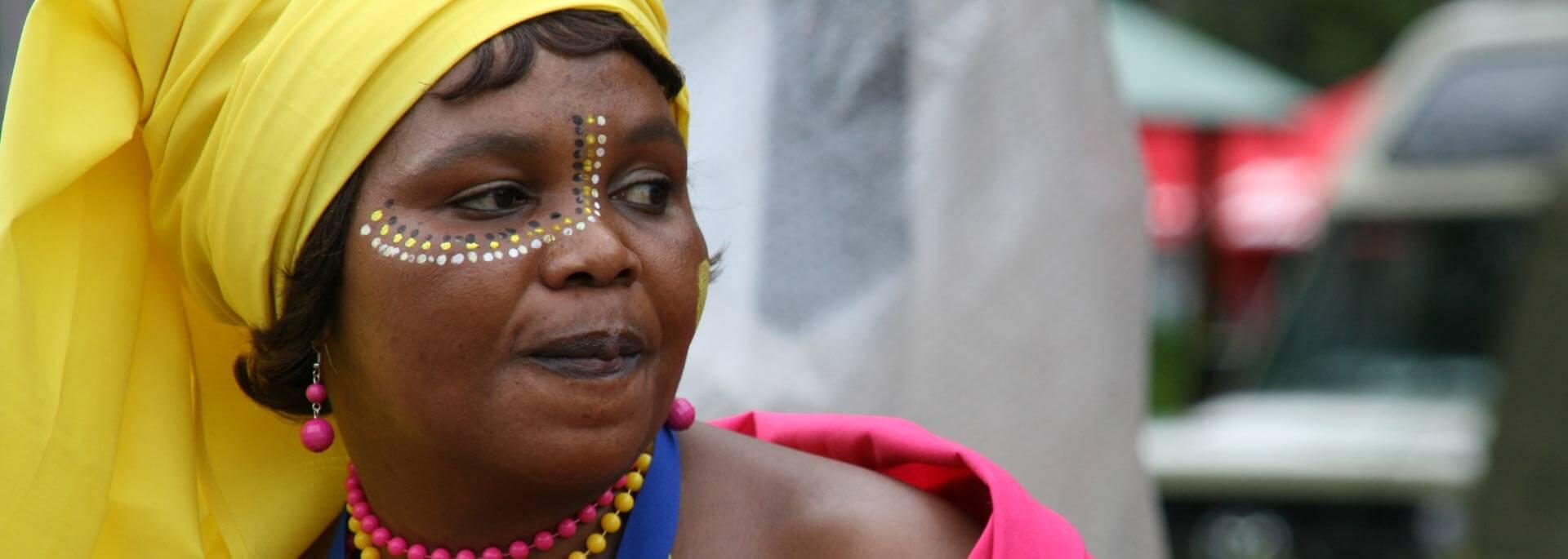 Wie ich auf Afrikas Tourismusmesse Haitauchern ins Netz ging
