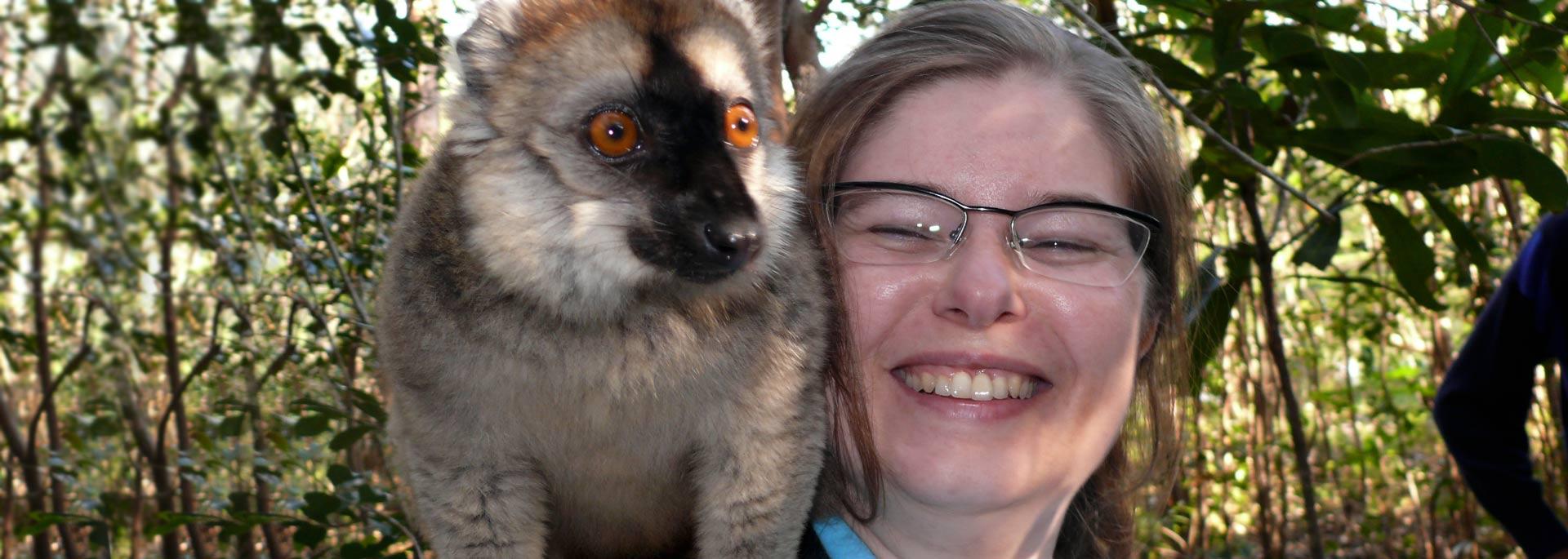 Wie ich auf Madagaskar die Lemuren kitzelte