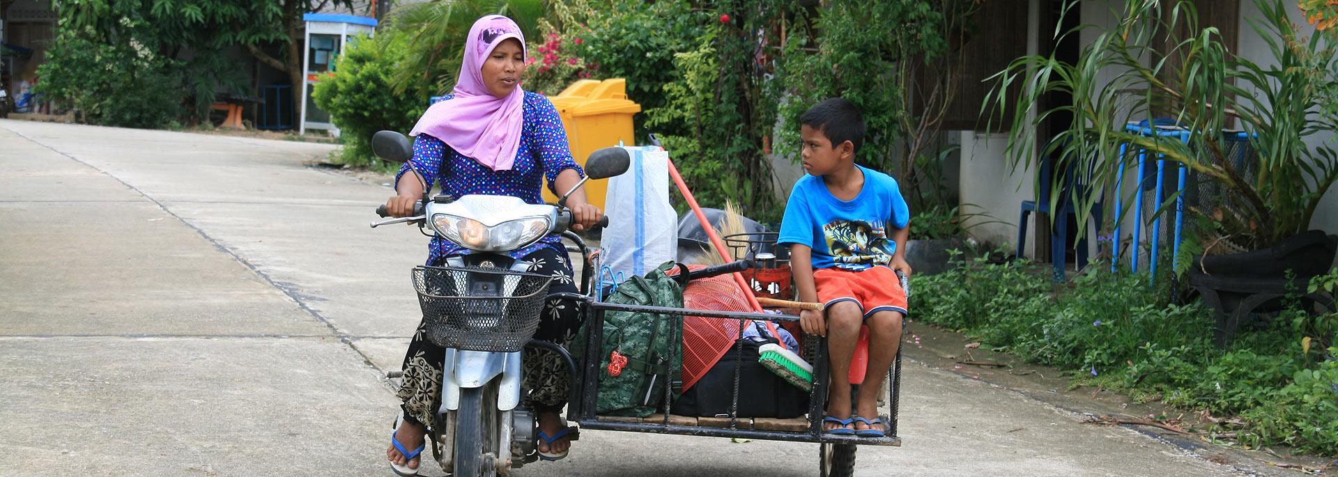Wie ich bei einer muslimischen Thai-Familie in einem Tsunami-Dorf lebte