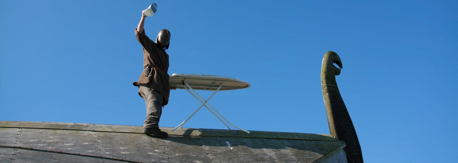 Wie ich in Schottland einen bügelnden Wikinger traf