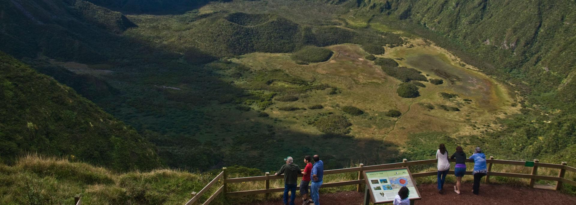 Faials Vulkane: Caldeira und Capelinhos