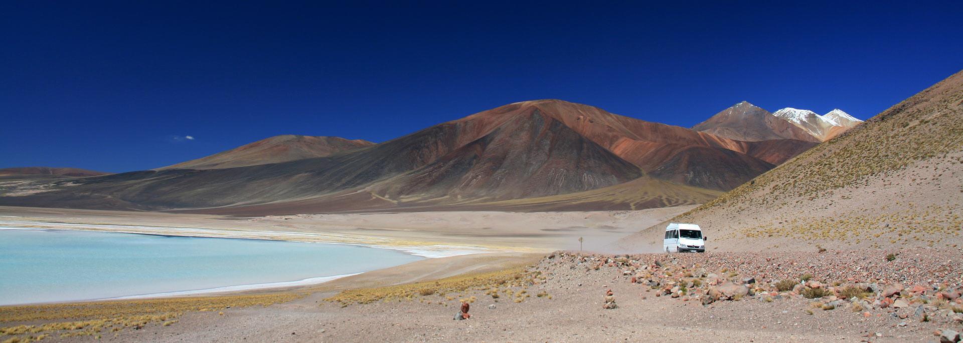 Wie ich an einer Lagune auf dem Altiplano einen erfrischenden Lunch hatte