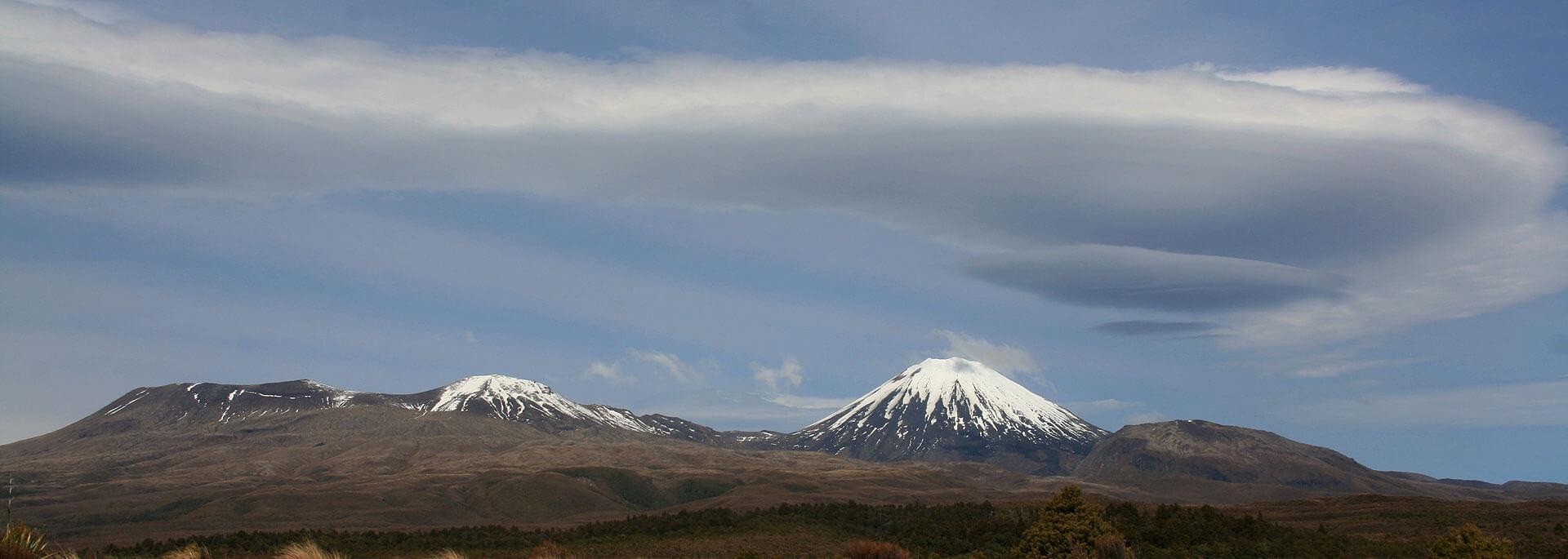 Wie ich unter Ufos über Neuseelands Vulkane schwebte