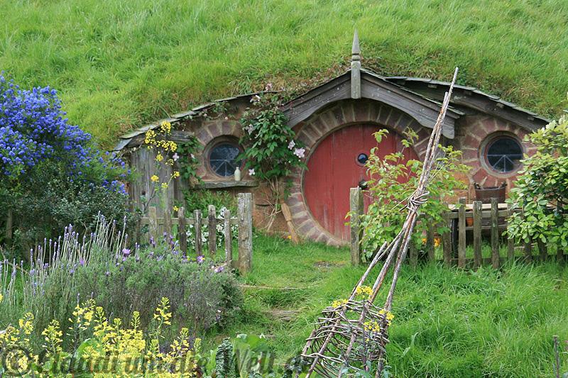 Hobbit Haus fotos mittelerde filmset hobbiton