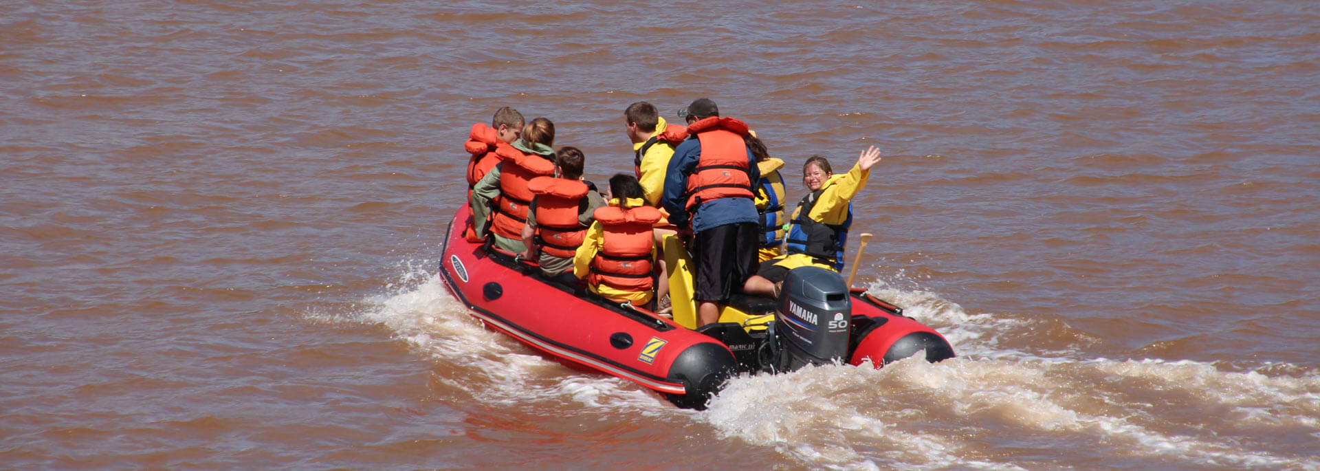Reisetipp: Tidal Bore Rafting in Nova Scotia