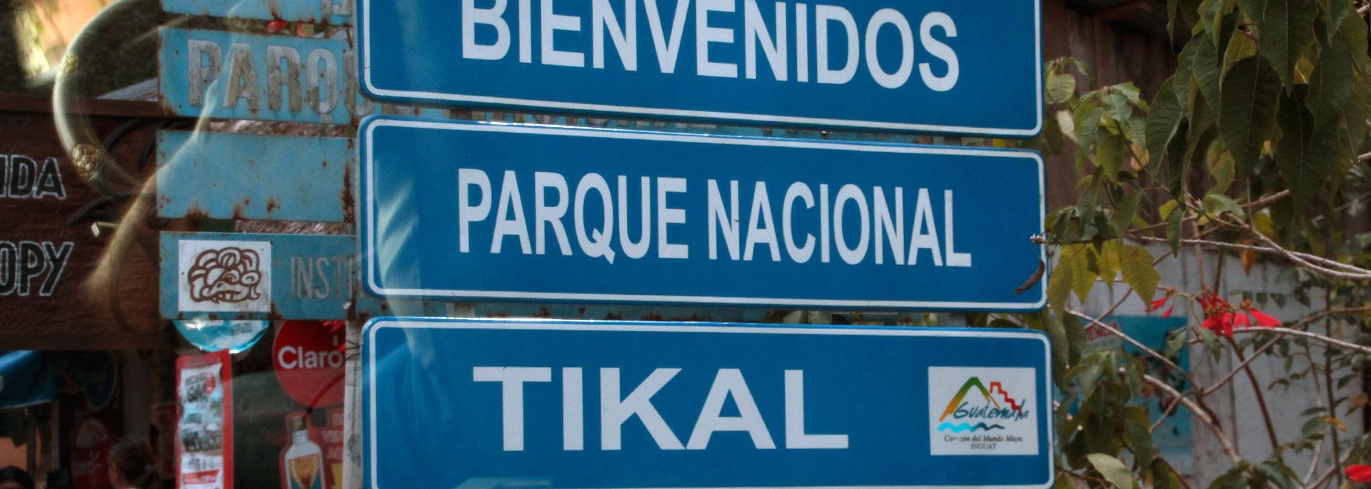 Aufbruch nach Tikal, Guatemalas wichtigster Maya-Stadt