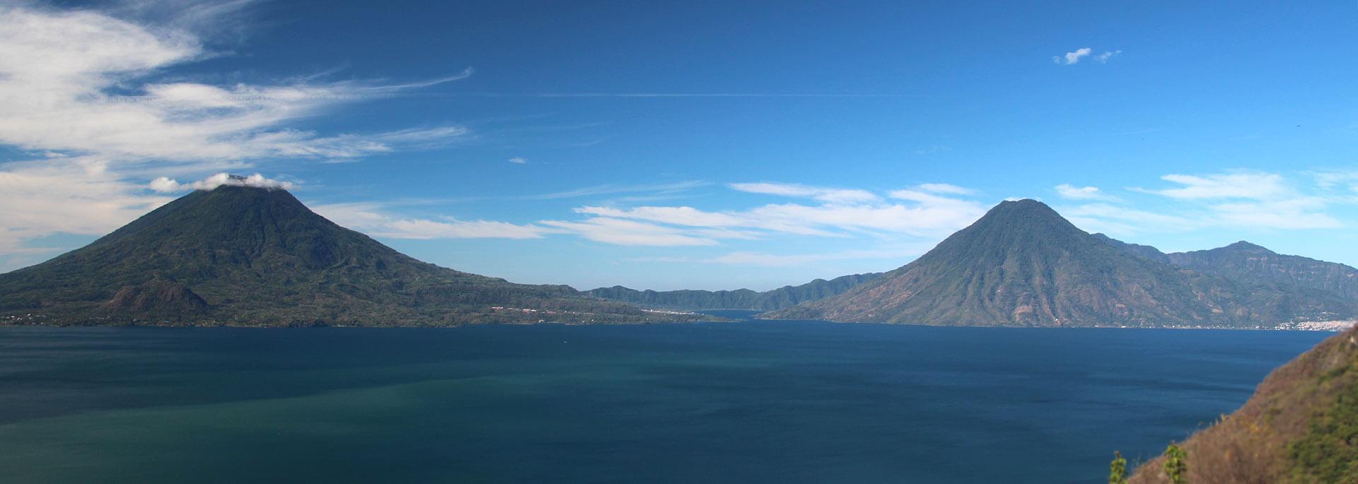 Farbwelten rund um den Lago Atitlán