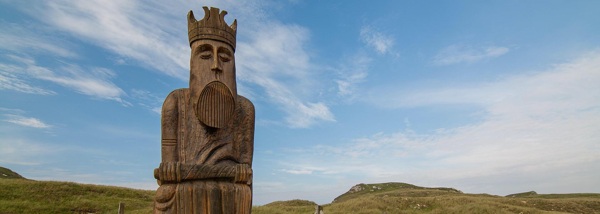Warum man auf Schottlands Insel Lewis nicht Schachspielen kann
