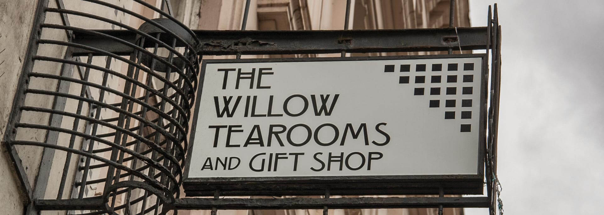 Auf einen Kaffee im Willow Tea Room von Glasgow