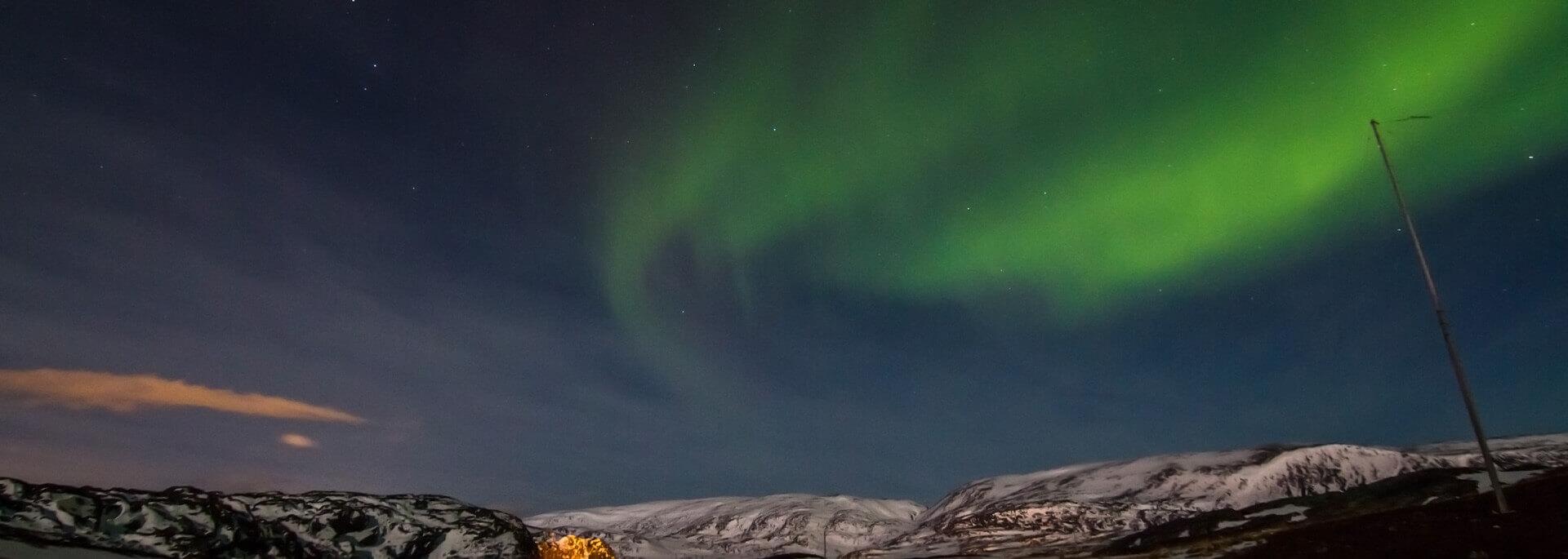 Wie ich in Hammerfest endlich das Nordlicht einfing