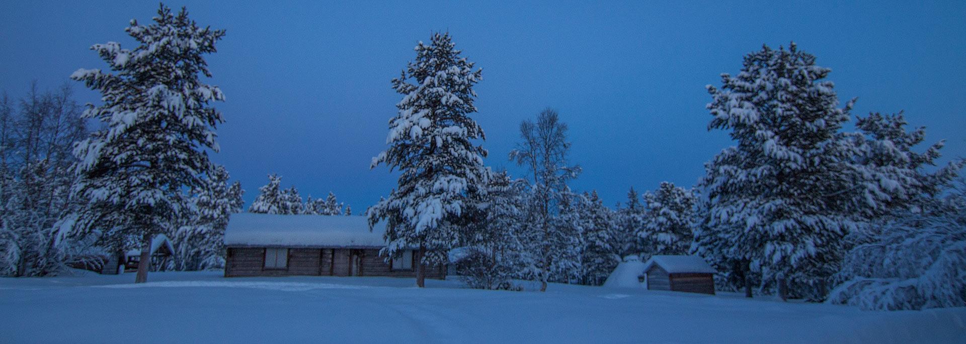 Als ich bei den Samen in Norwegisch Lappland Elchbraten speiste