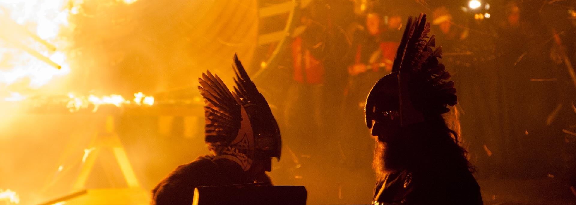 Reisetipp: Up Helly Aa - Europas größtes Feuer-Festival in Lerwick