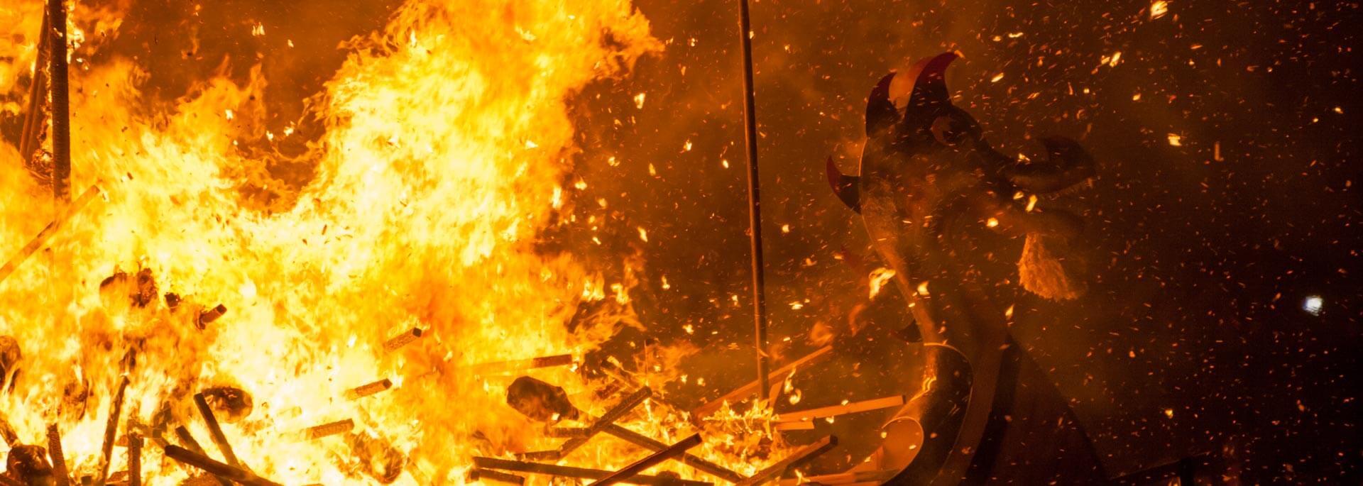 Fotos: Up Helly Aa Feuerfestival auf den Shetlands