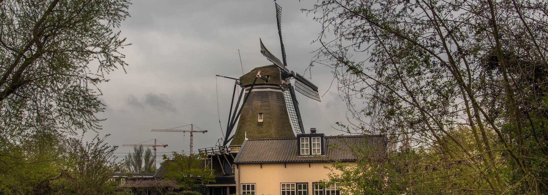 Fotos: Das graublaue Leiden (Holland)