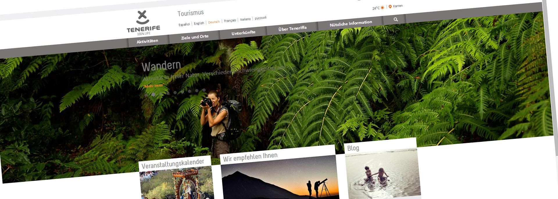 Sponsor des Monats: Teneriffa-Infoportal Web Tenerife