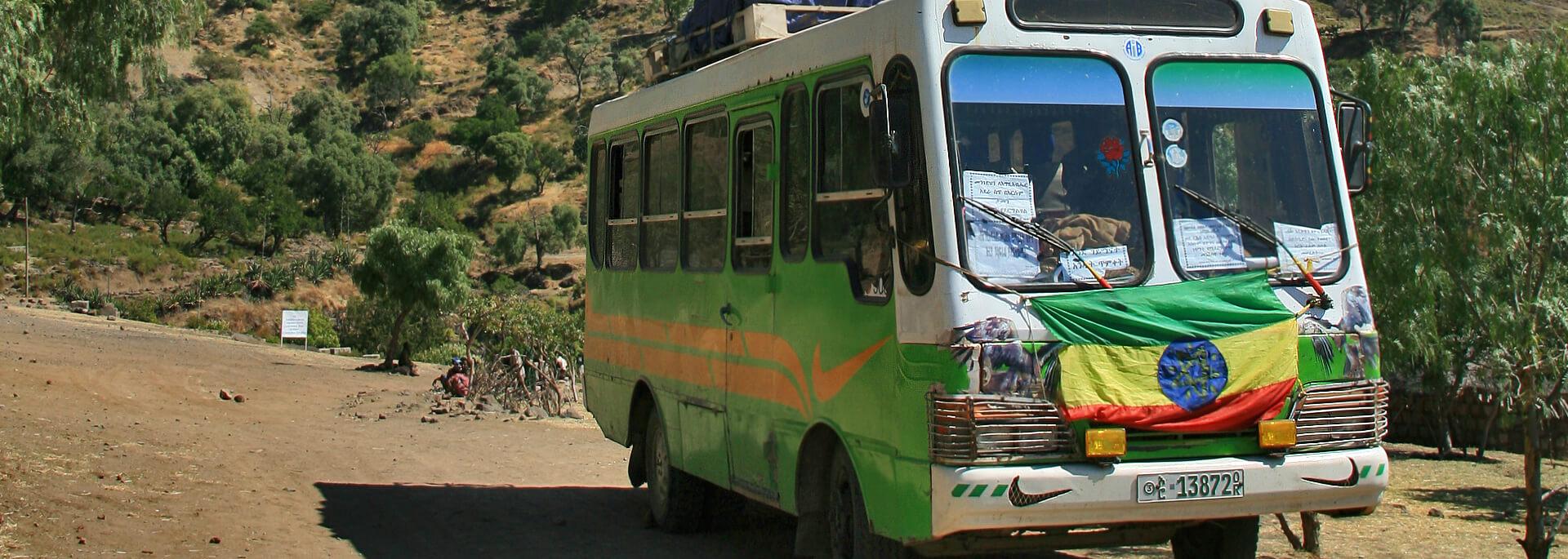 Kleine Reiseinfo Äthiopien