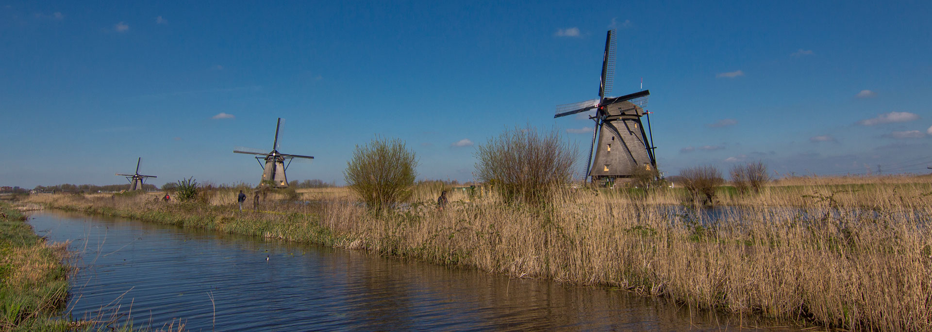 Fotos: Windmühlen vom Kinderdijk, Holland