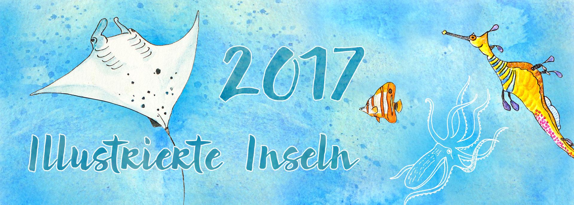 Kalendertipp: Illustrierte Inselkarten 2017 – jetzt vorbestellen!